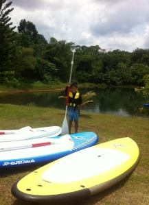 Santino, our youngest SUP rider!